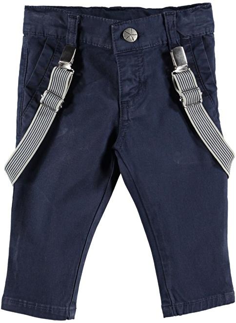 Locopop Askılı Pantolon Lacivert